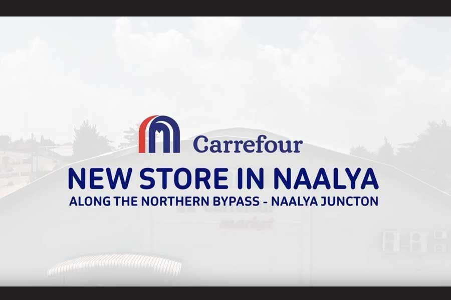 Carrefour, is officially open for business at Metroplex Shopping Mall