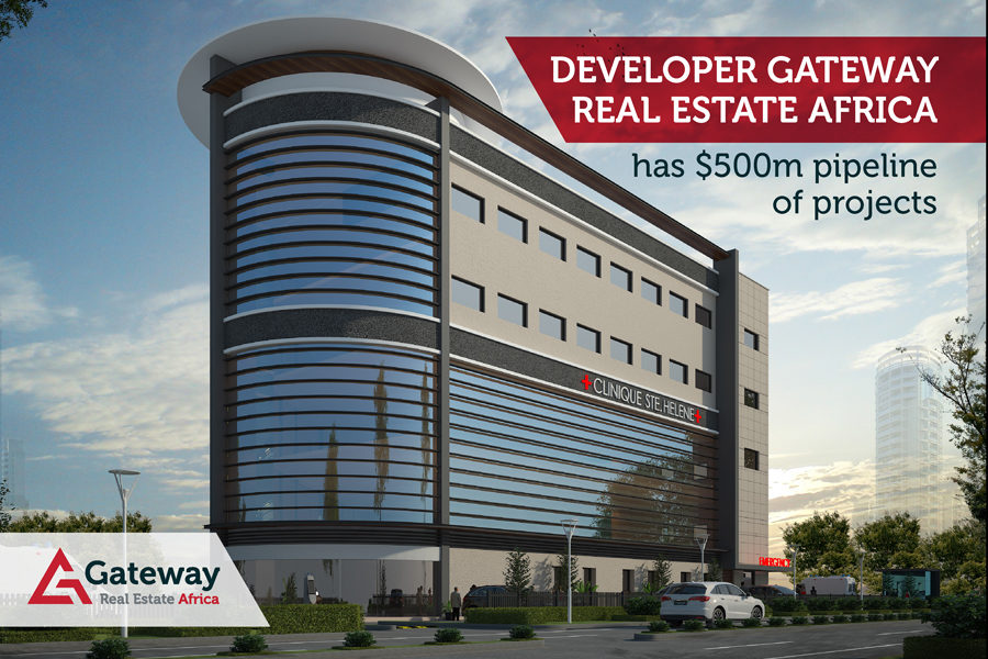 Developer Gateway Real Estate Africa has $500m pipeline of projects