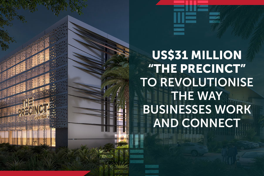 """Us$31 Million """"The Precinct"""" to Revolutionise the Way Businesses Work and Connect"""